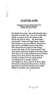 Cover of: Grover Cleveland: a record of friendship
