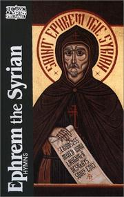 Cover of: Ephrem the Syrian