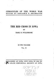 Cover of: The Red Cross in Iowa