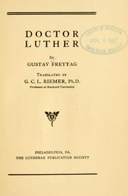 Cover of: Doctor Luther