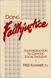 Cover of: Doing faithjustice | Fred Kammer