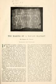 Cover of: The making of a Navajo blanket