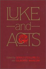 Cover of: Luke and Acts |