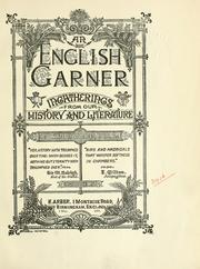 Cover of: An English garner | Arber, Edward
