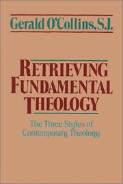 Cover of: Retrieving fundamental theology