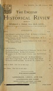 Cover of: British policy towards the American Indians in the South, 1763-8