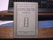 Popular mechanics concrete handbook no. 1