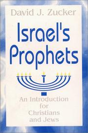 Cover of: Israel's prophets