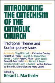 Cover of: Introducing the Catechism of the Catholic Church