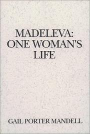 Cover of: Madeleva, one woman's life