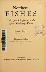Cover of: Northern fishes