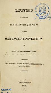 hartford convention (1814-1815 : hartford conn.) | Open Library