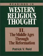 Cover of: Readings in Western religious thought