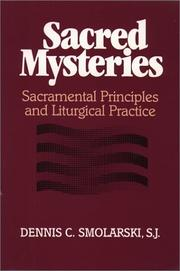 Cover of: Sacred mysteries