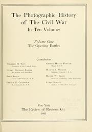 Cover of: The photographic history of the Civil War by Miller, Francis Trevelyan