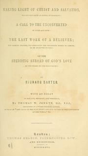 Cover of: Making light of Christ and salvation