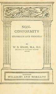 Cover of: Nonconformity