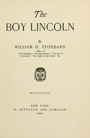 Cover of: The boy Lincoln