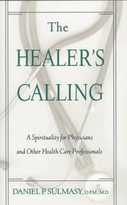 Cover of: The healer's calling