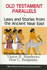 Old Testament parallels by Victor Harold Matthews