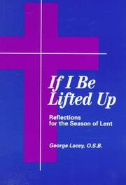 Cover of: If I be lifted up
