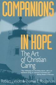 Cover of: Companions in hope | Robert J. Wicks