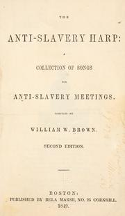 Cover of: The anti-slavery harp