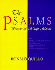 Cover of: The Psalms, prayers of many moods