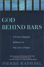 Cover of: God behind bars