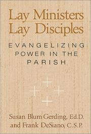 Cover of: Lay ministers, lay disciples