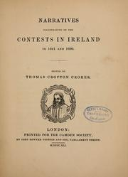 Cover of: Narratives illustrative of the contests in Ireland in 1641 and 1690
