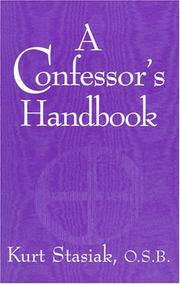 Cover of: A Confessor