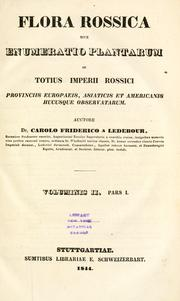 Cover of: Flora Rossica