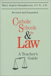 Cover of: Catholic schools and the law