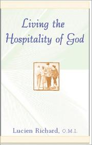 Cover of: Living the Hospitality of God (Robert J. Wicks Spirituality Selections)