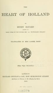 Cover of: The heart of Holland