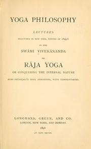 Cover of: Yoga philosophy