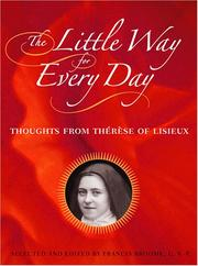 Cover of: The Little Way for Every Day