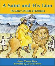 Cover of: A Saint and His Lion | Elaine Murray Stone