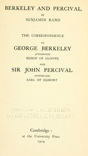 Cover of: Berkeley and Percival