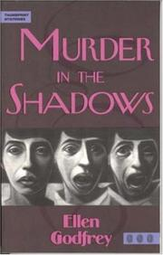 Cover of: Murder in the shadows