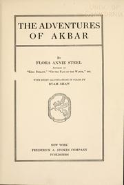 Cover of: The adventures of Akbar
