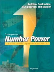 Contemporary's number power by Jerry Howett