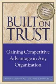 Cover of: Built on Trust  | Arky R., M.D. Ciancutti