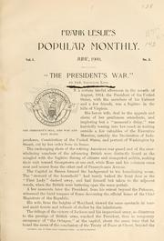 "Cover of: ""The President's war."""