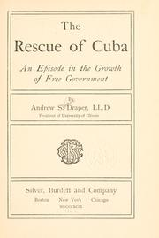 Cover of: The rescue of Cuba