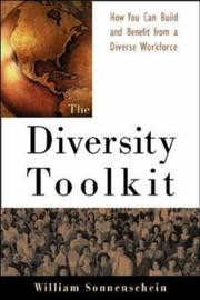 Cover of: The diversity toolkit