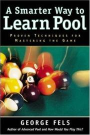 Cover of: A smarter way to learn pool