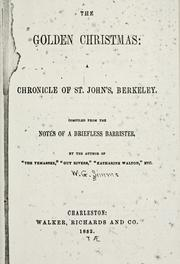 Cover of: The golden Christmas