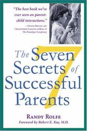 Cover of: The Seven Secrets of Successful Parents